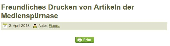 Der Print-Button