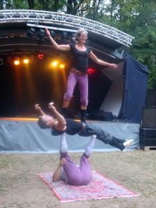 Artistik mit Zirkus Mare