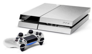 Playstation 4 silber