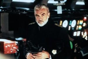 "Sean Connery - Jagd auf roter Oktober - Quelle: Screenshot DVD ""Jagd auf roter Oktober"""